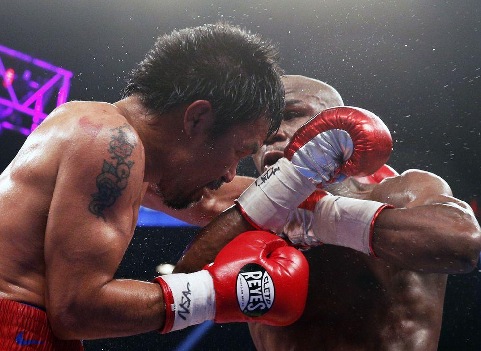 Pacquiao si opera: il match con Mayweather falsato da un infortunio alla spalla?