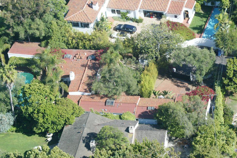 La casa di Brentwood dove morì Marilyn Monroe