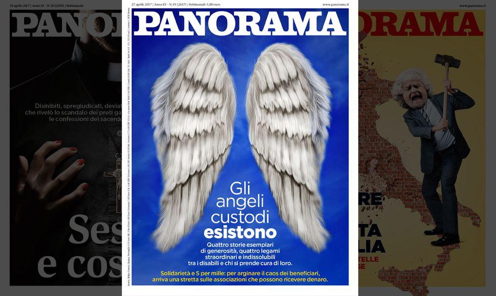 La copertina di Panorama n. 19/2017