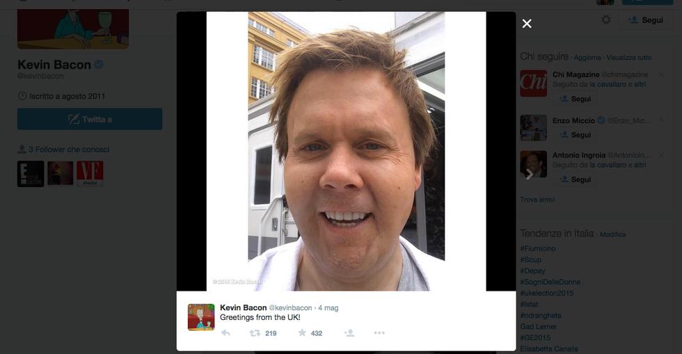 Cosa è successo a Kevin Bacon?