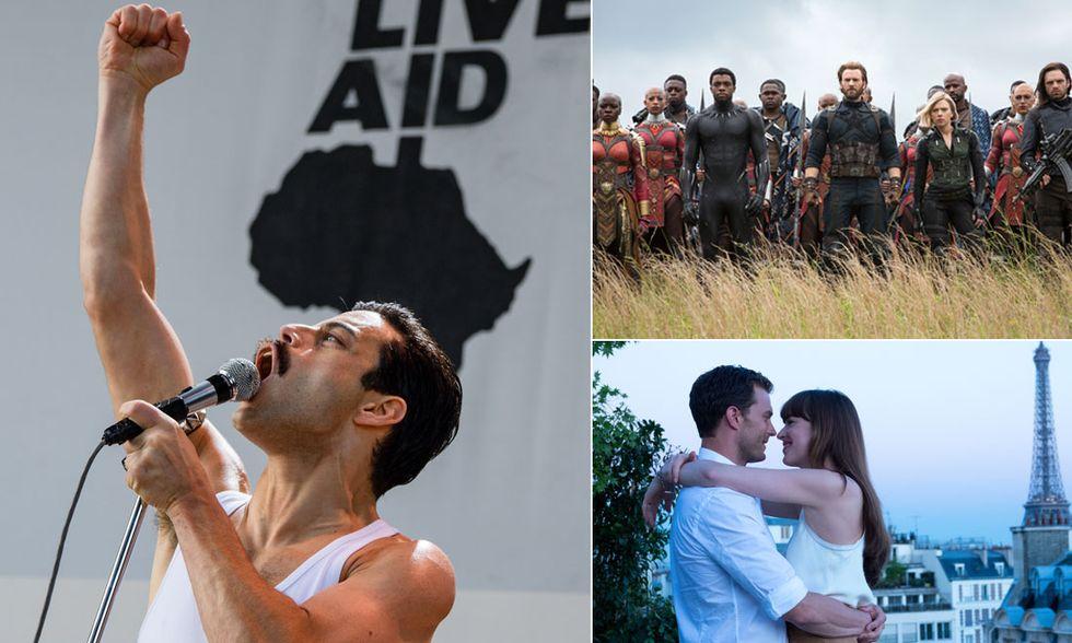I 10 film più visti in Italia e i migliori incassi del 2018