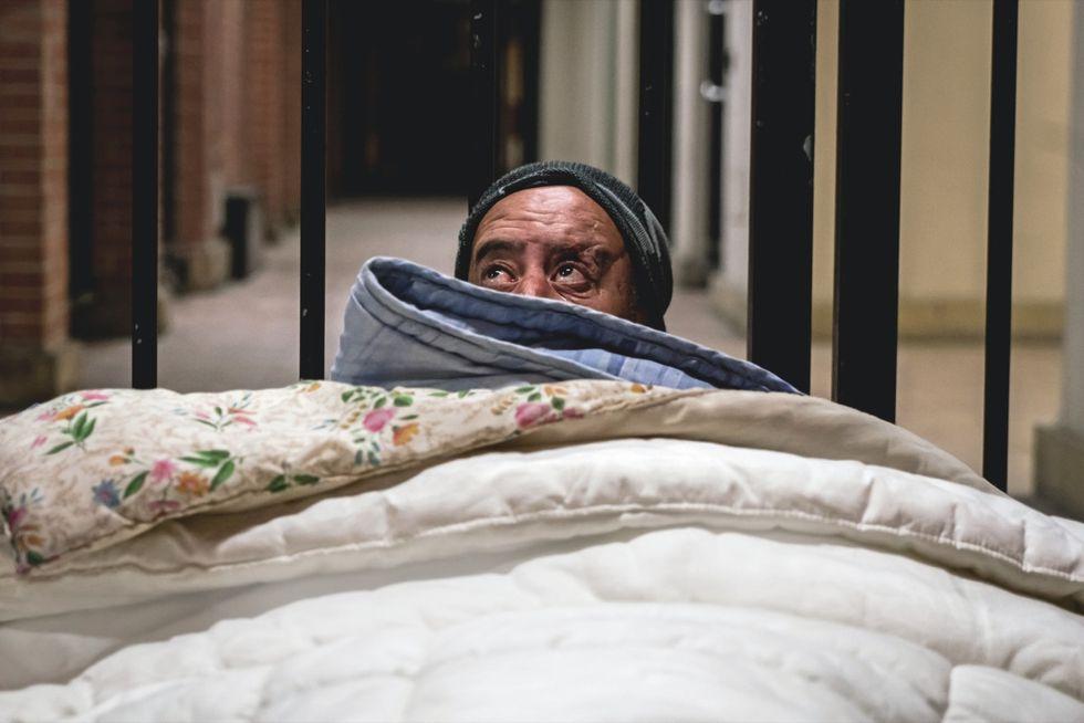 senzatetto Milano clochard