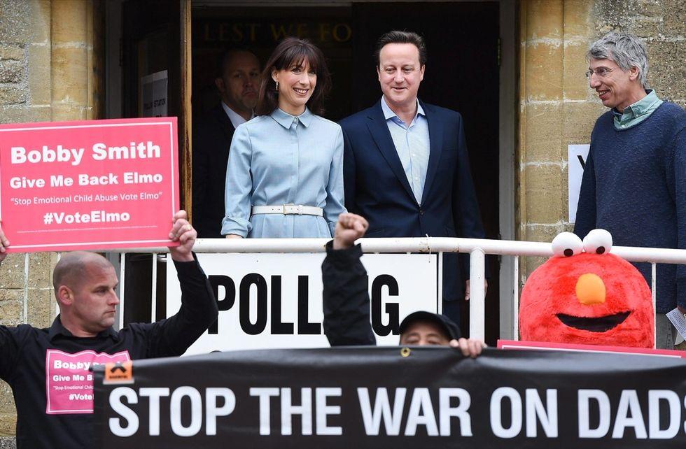 David Cameron e la moglie Samantha