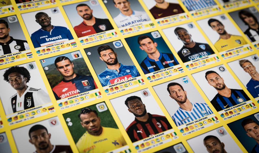figurine Panini album calciatori 2018 2019