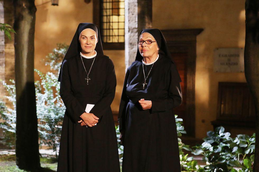 Che Dio ci aiuti 5 Elena Sofia Ricci e Valeria Fabrizi