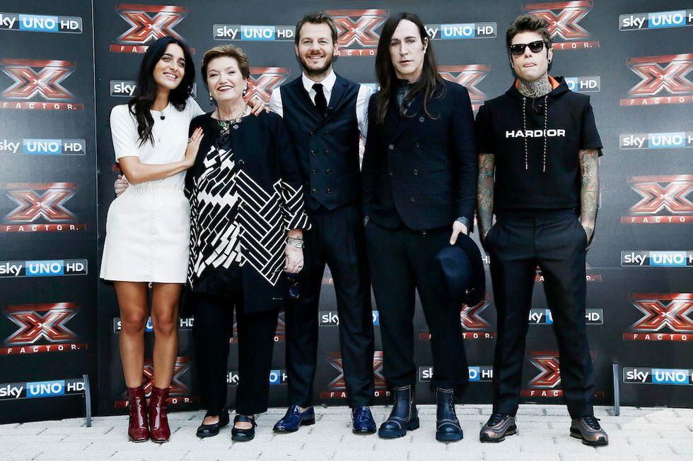 X Factor 2017 giuria e conduttore