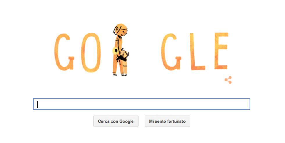 Google: un doodle per la Festa della mamma