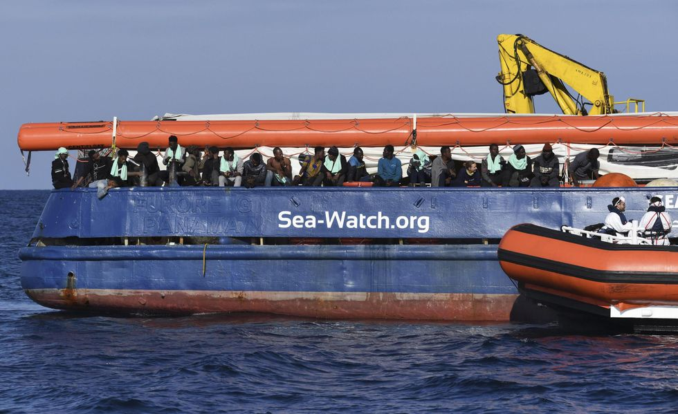Sea Watch nave Ong migranti