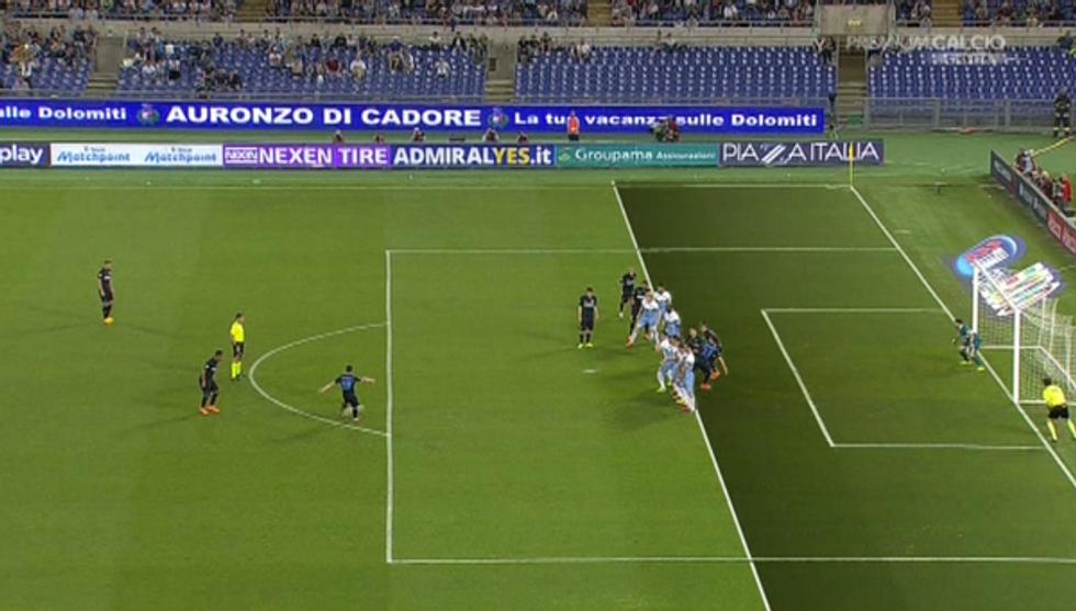 35° giornata - Lazio-Inter, Massa bocciato. Empoli, Chievo e Cesena penalizzate