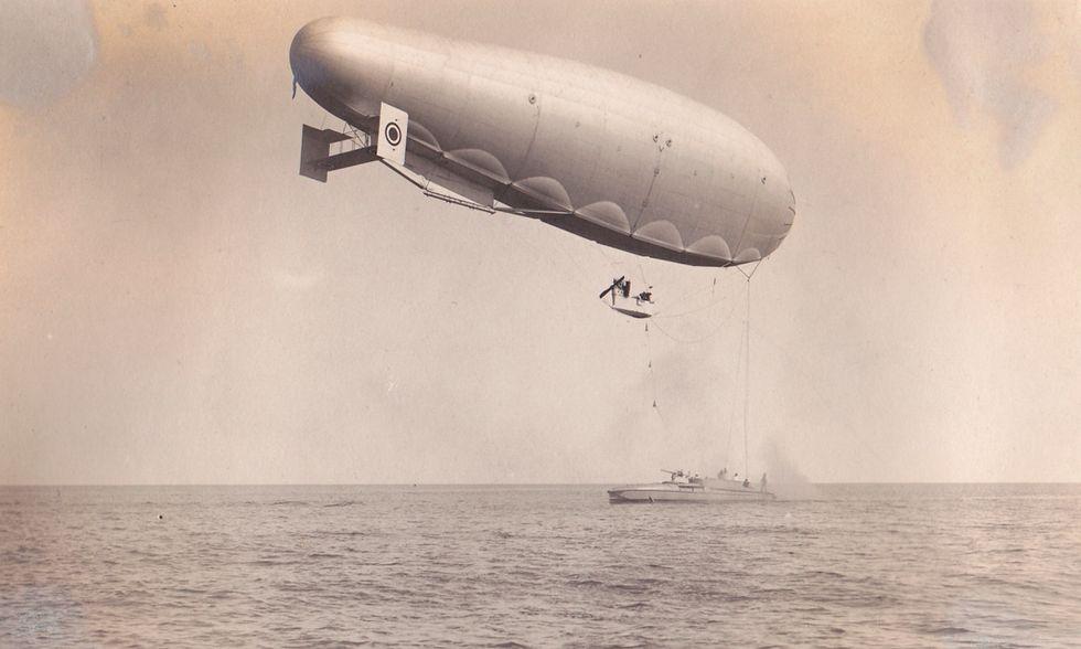 Dirigibili della Marina: foto d'epoca in mostra a Roma