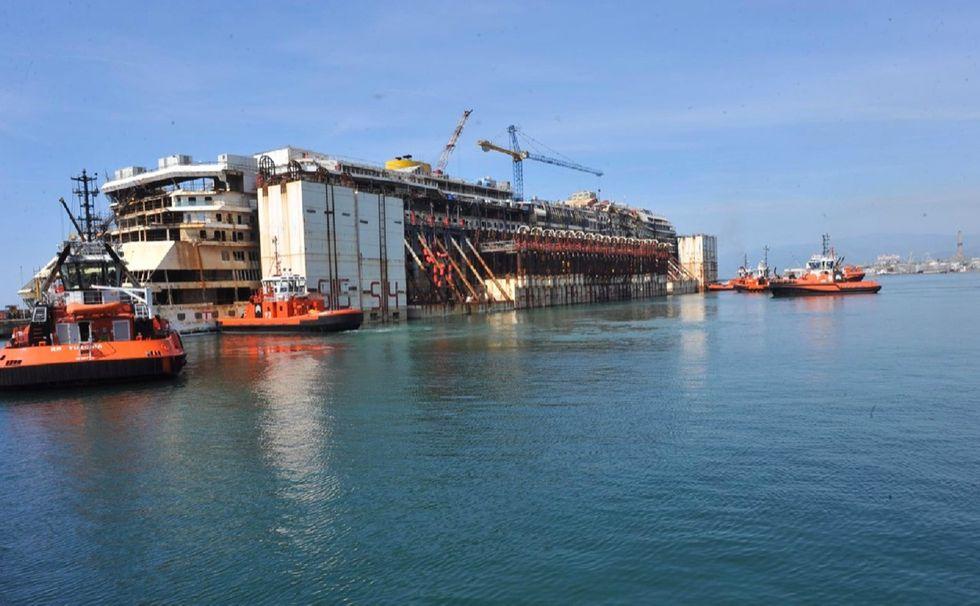 Concordia-porto-genova