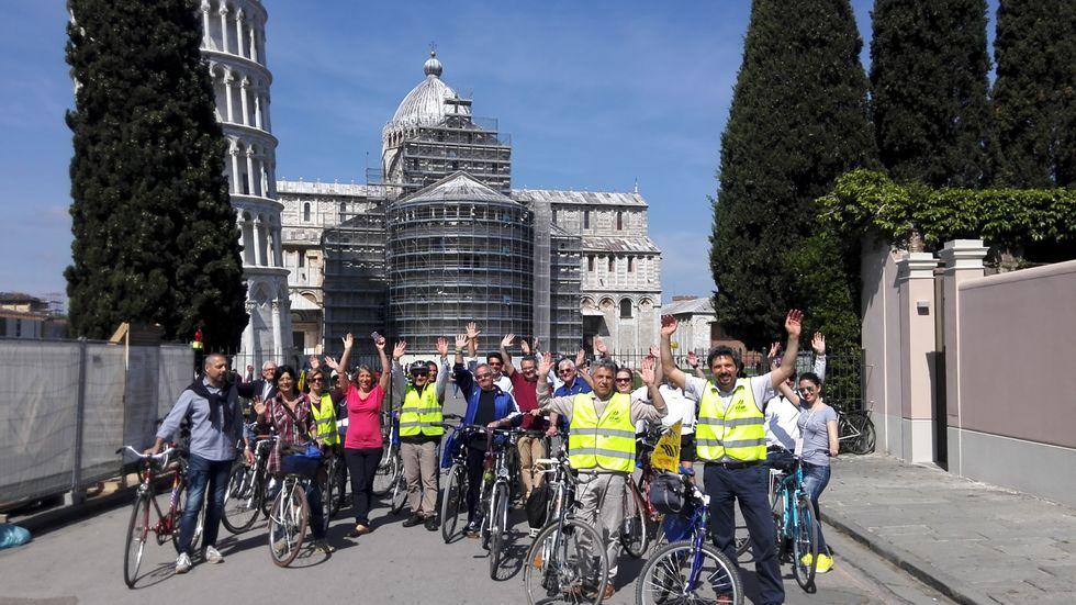 Il Bike tour nel centro storico di Pisa