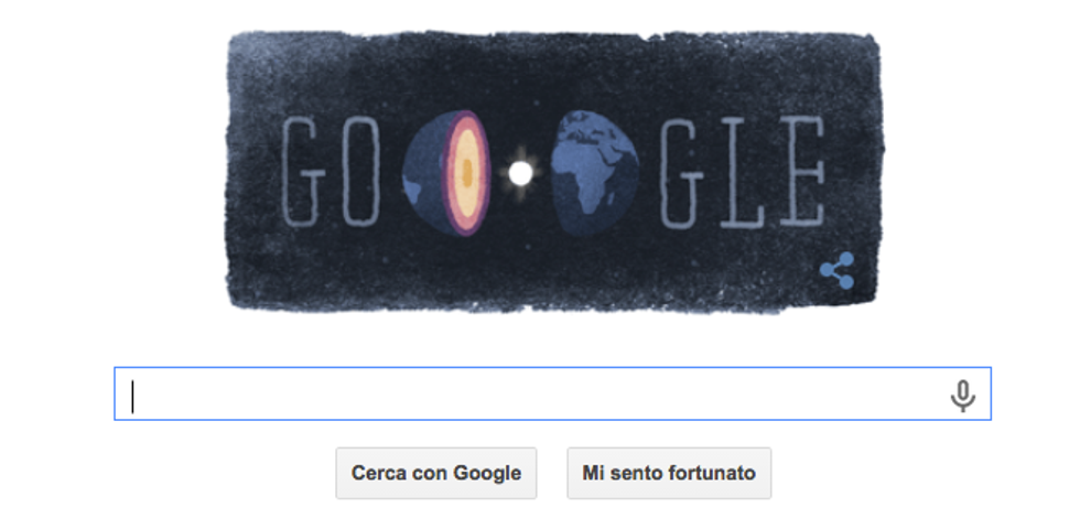 Google: un Doodle per la geofisica Inge Lehmann