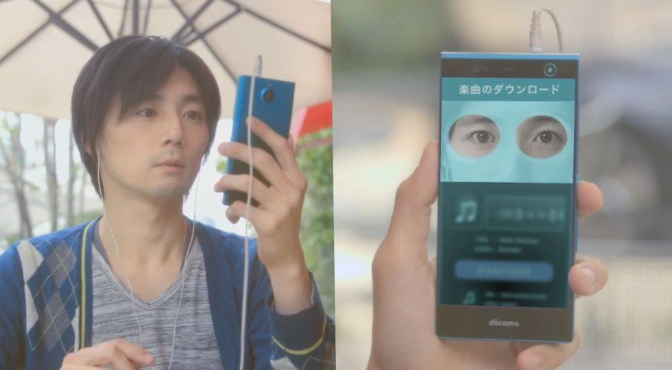 Gli smartphone ci faranno lo scan dell'iride