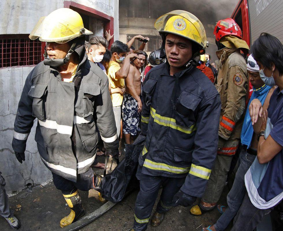 Filippine: rogo in una fabbrica, decine di vittime