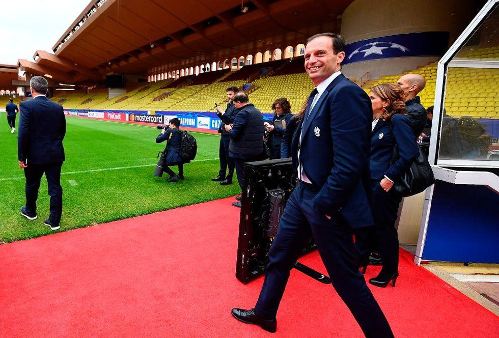 Monaco Juventus semifinale Champions League Allegri