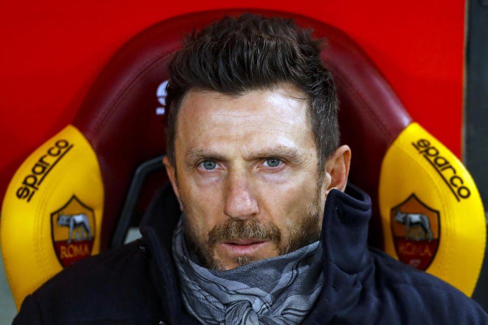 di francesco roma esonero colpe champions league