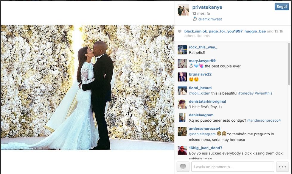 Kim Kardashian e Kanye West verso l'addio