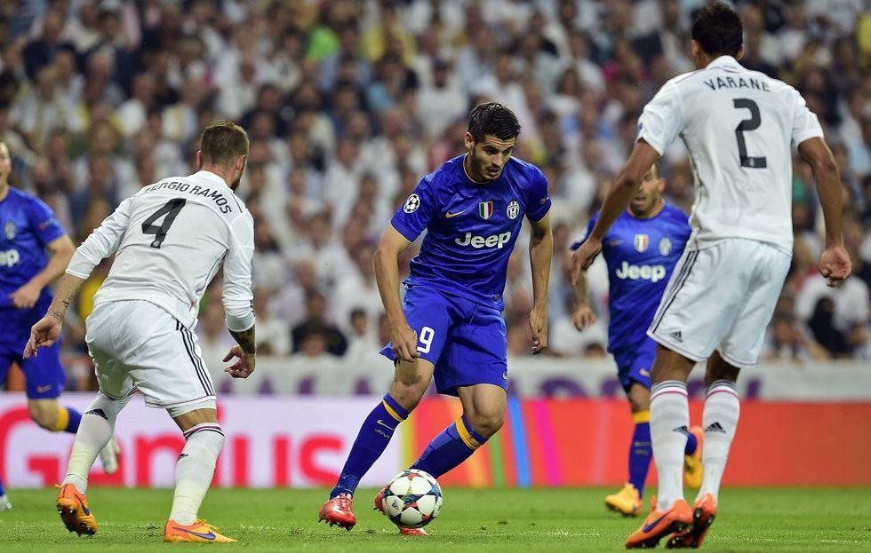 Dal Real Madrid alla Juventus: la Champions tutta al contrario di Morata