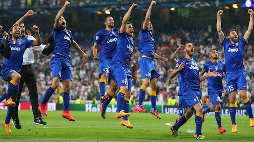 Ascolti 13/5: la Juve va in finale al 41% di share su Canale 5