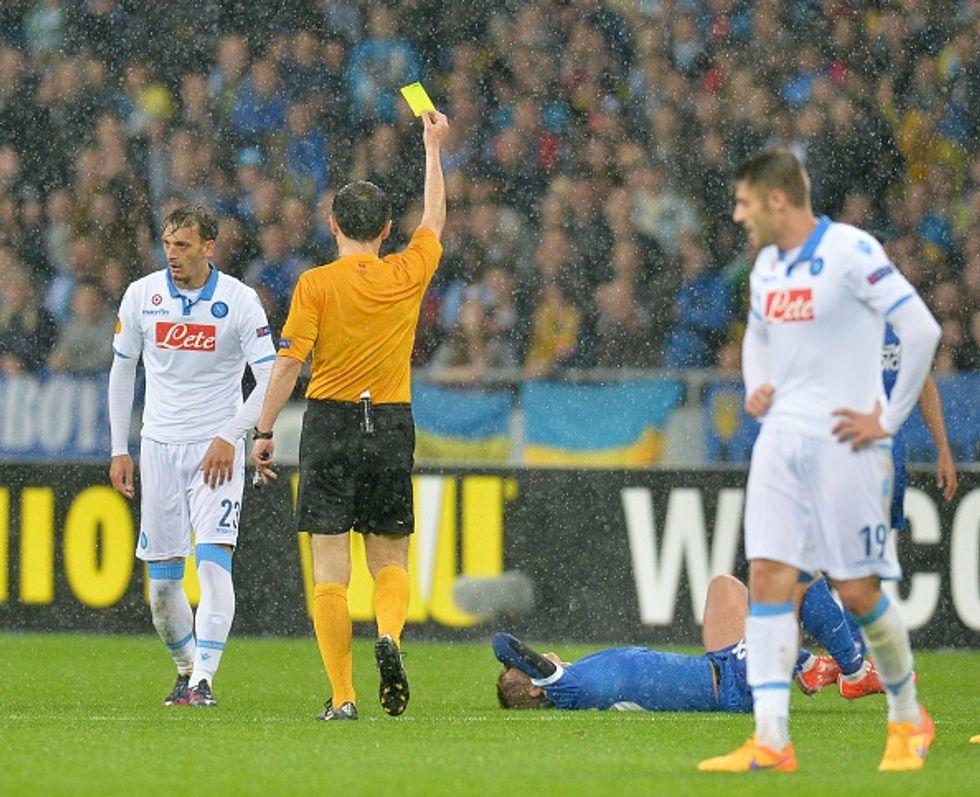 Napoli e Fiorentina, delusione. Niente finale italiana a Varsavia