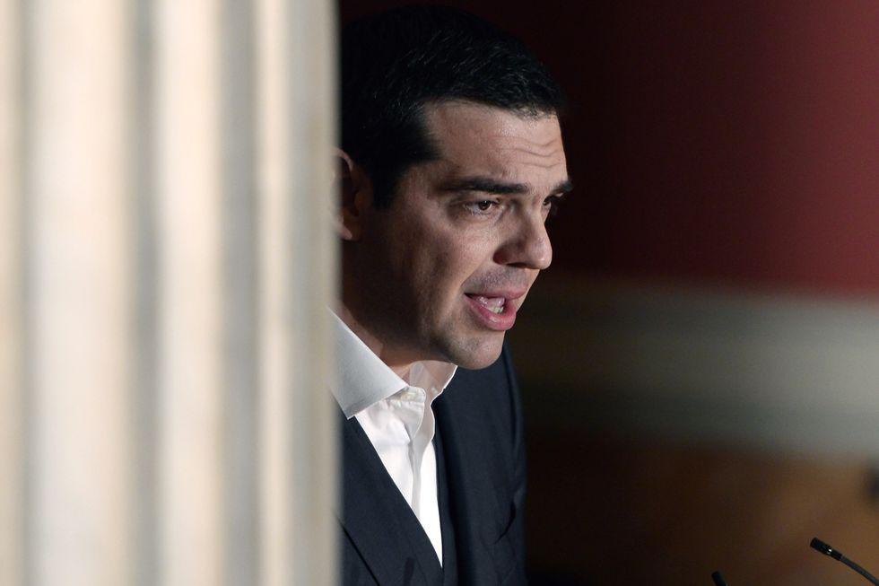 grecia alexis Tsipras crisi