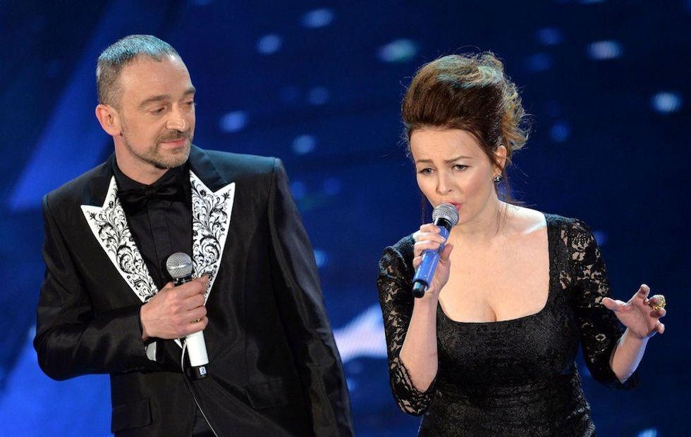 Sanremo 2014: le pagelle ai look della quarta serata