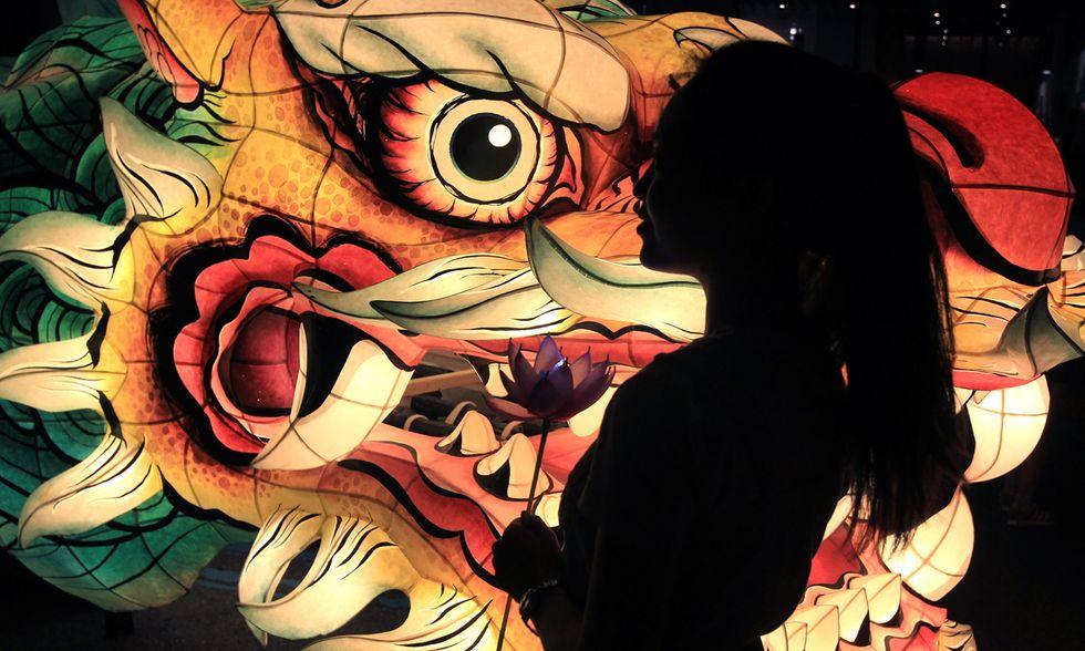Festa delle lanterne a Seul