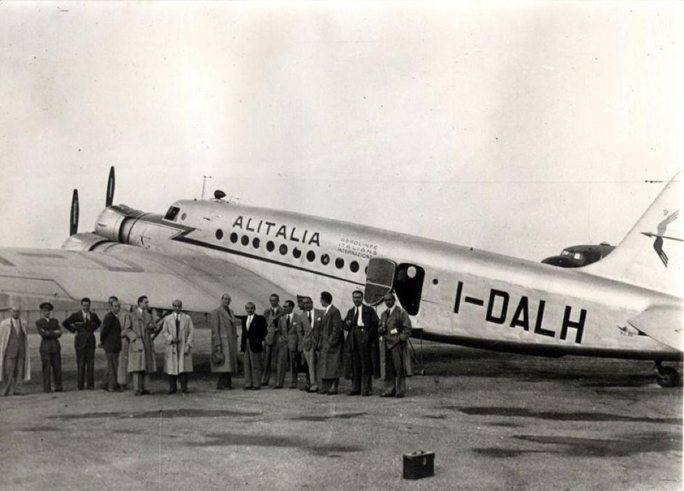 primo volo alitalia