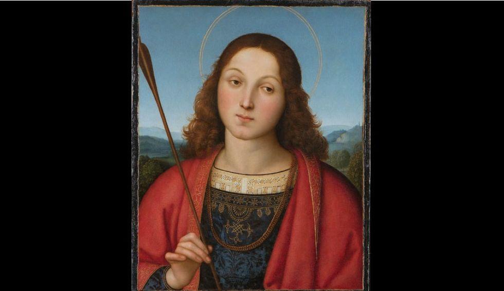 """Il """"San Sebastiano"""" di Raffaello all'Accademia Carrara di Bergamo"""