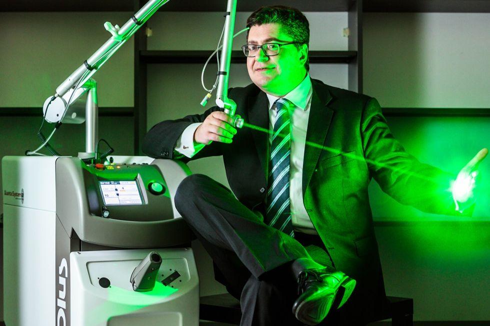 Salviamo l'arte (e la pelle) con il laser