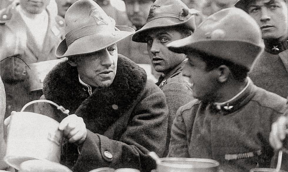24 maggio 1915, l'Italia nella prima guerra mondiale