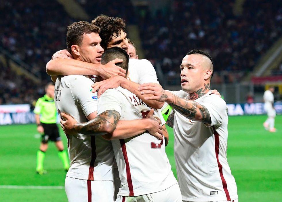 Milan Roma Dzeko