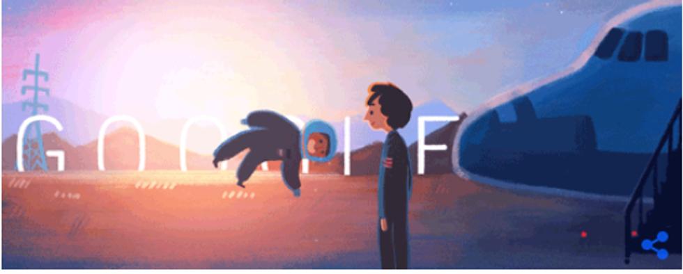 Google: un Doodle per la prima donna nello spazio