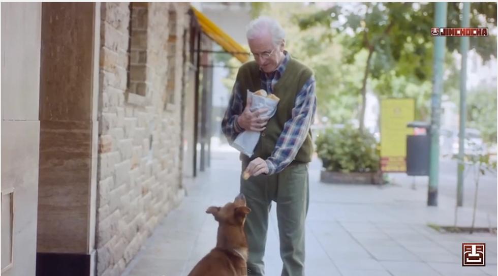 L'anziano col suo cane, la campagna argentina per la donazione d'organi