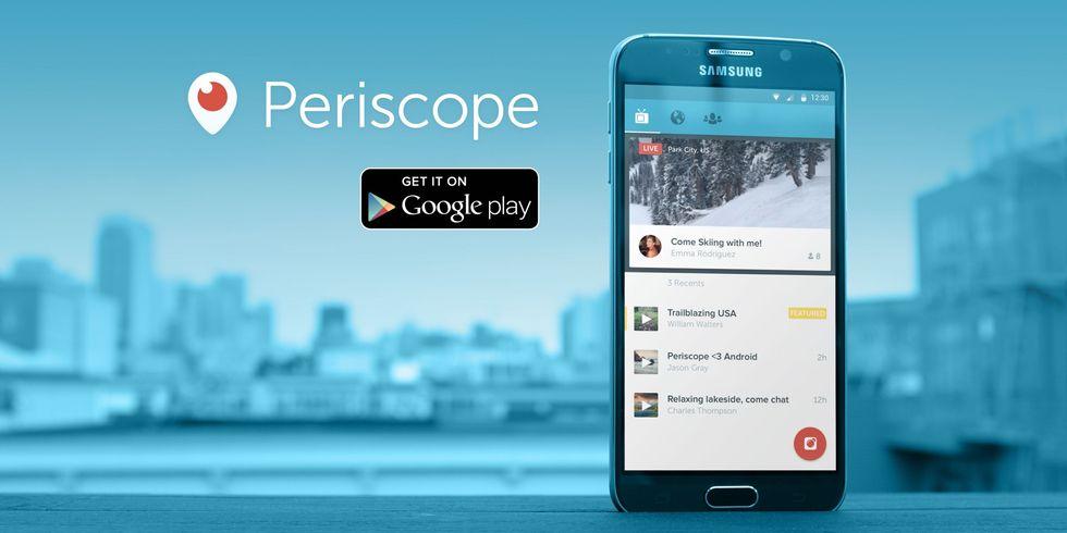 Periscope arriva su Android, ed è anche meglio