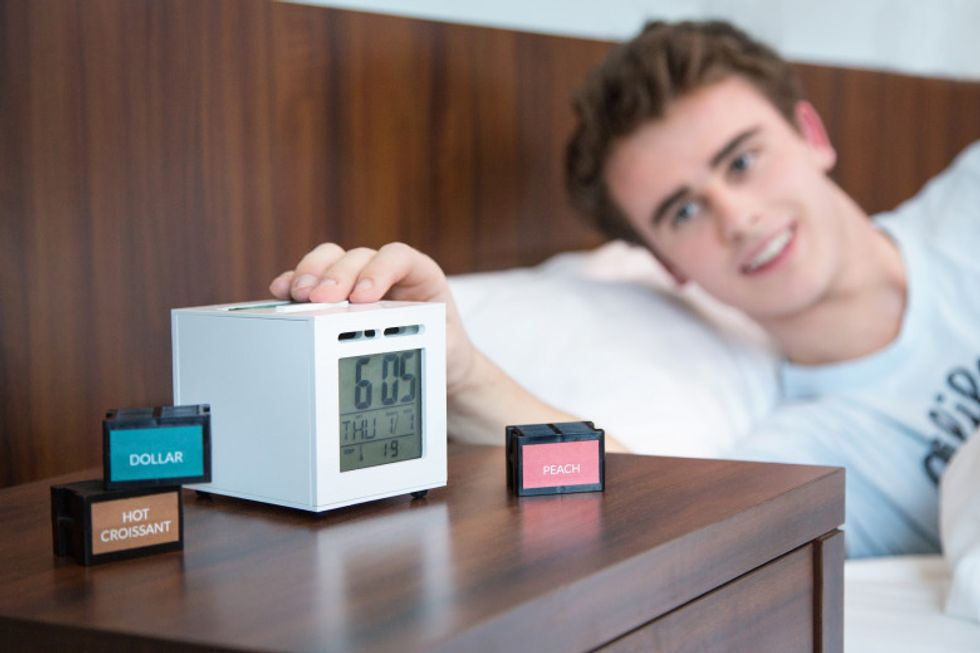 SensorWake, la sveglia che usa gli odori al posto dei suoni