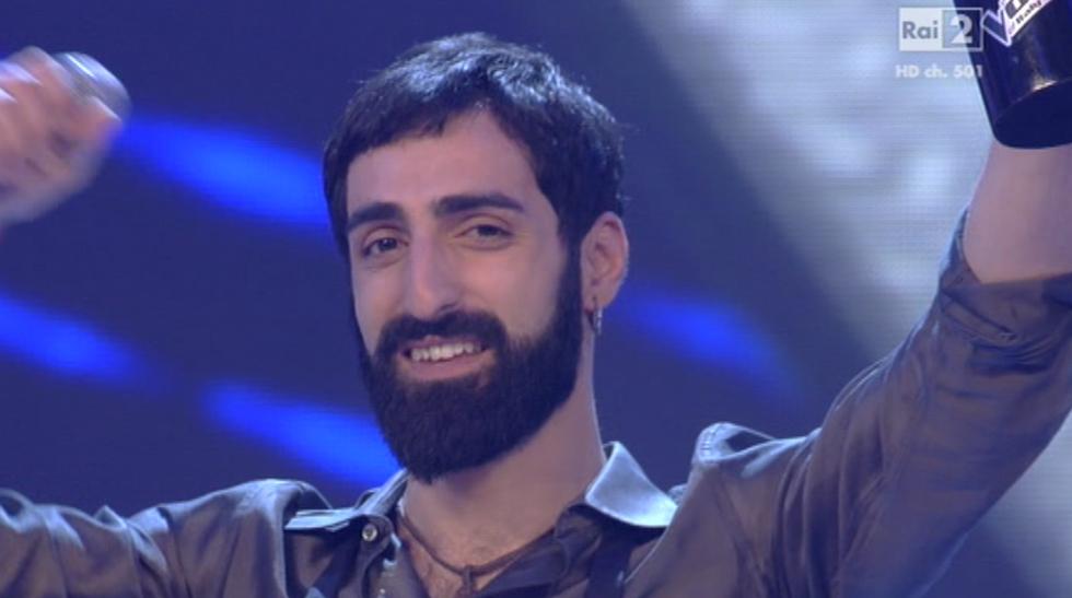 Fabio Curto Vince The Voice 3