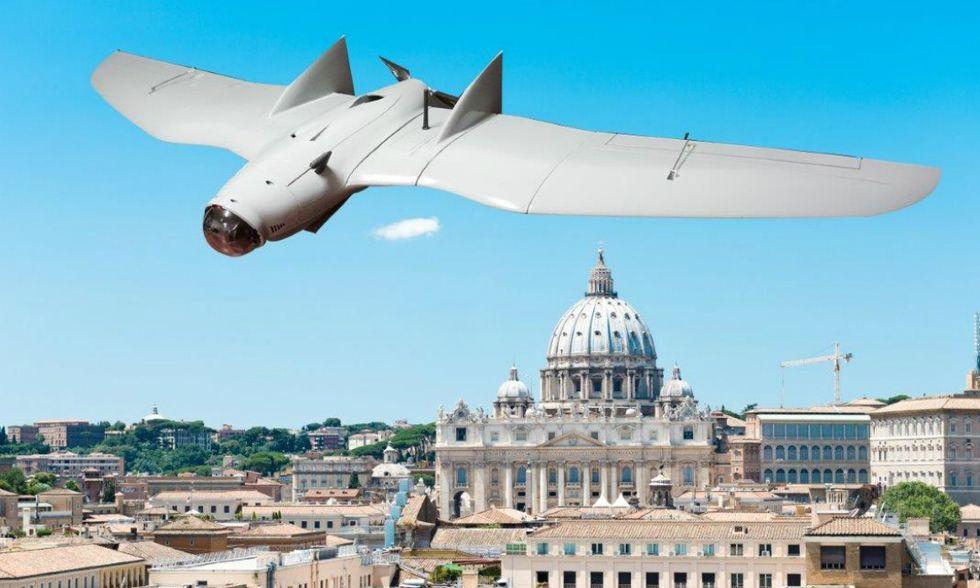 Droni, a Roma in mostra i nuovi robot volanti