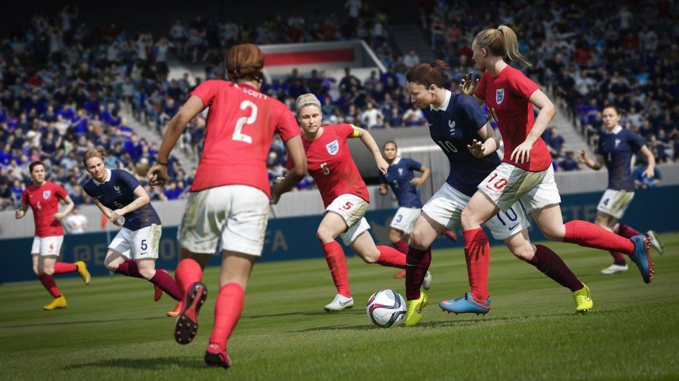 Fifa 16: nel nuovo videogame anche le nazionali femminili