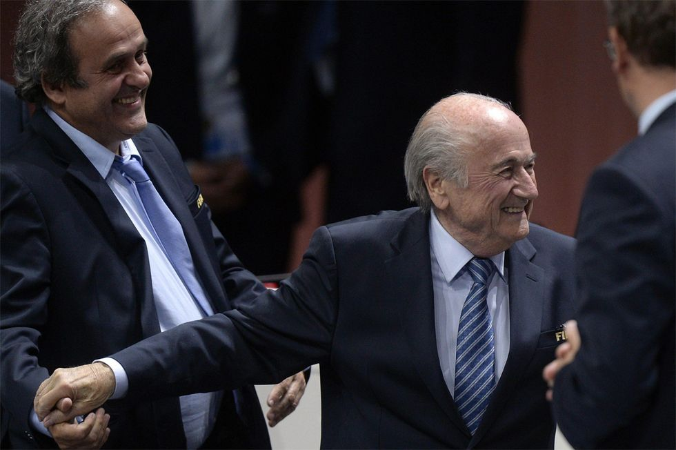 Blatter è ancora il presidente della Fifa