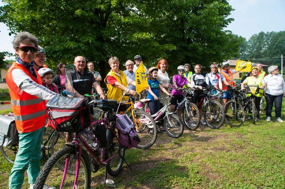 Il Bike tour lungo il lago di Varese
