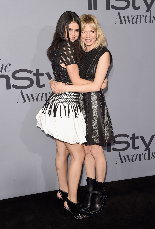 InStyle Awards 2015 Selena Gomez Michelle Williams