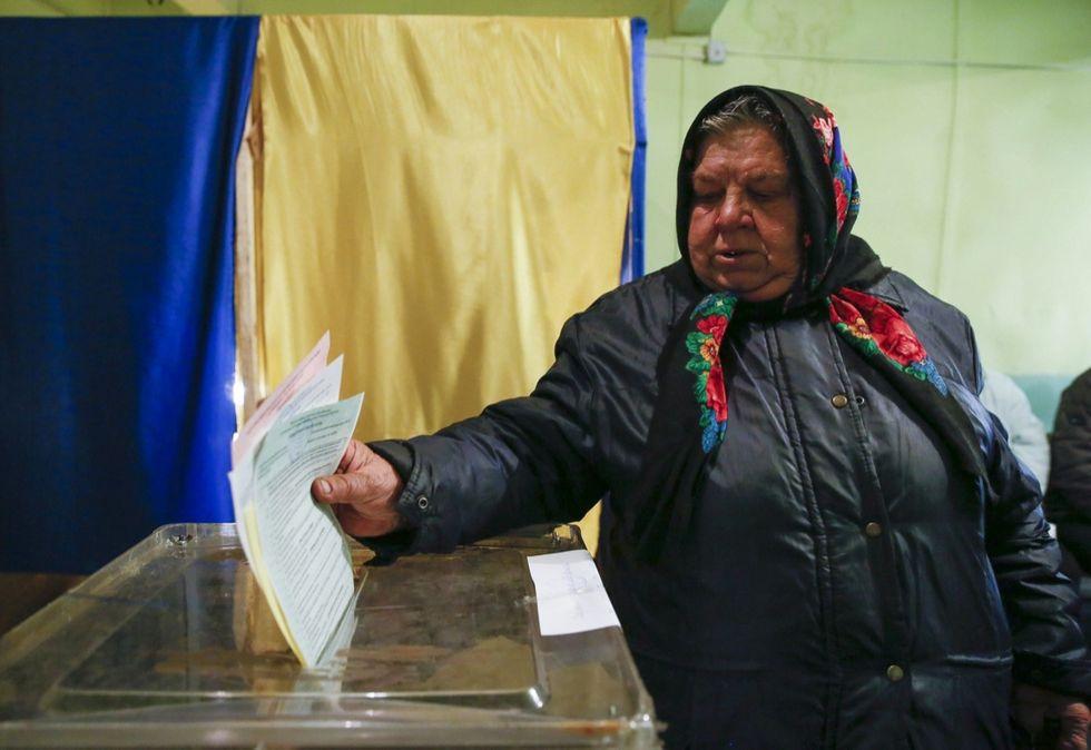 elezioni locali in ucraina