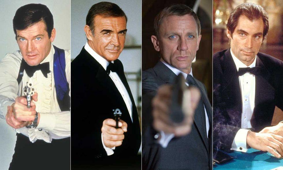 James Bond, da Sean Connery a Daniel Craig vota il migliore 007