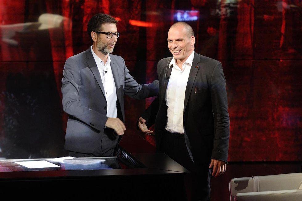 Varoufakis Fazio ospite a 'Che tempo che fa'