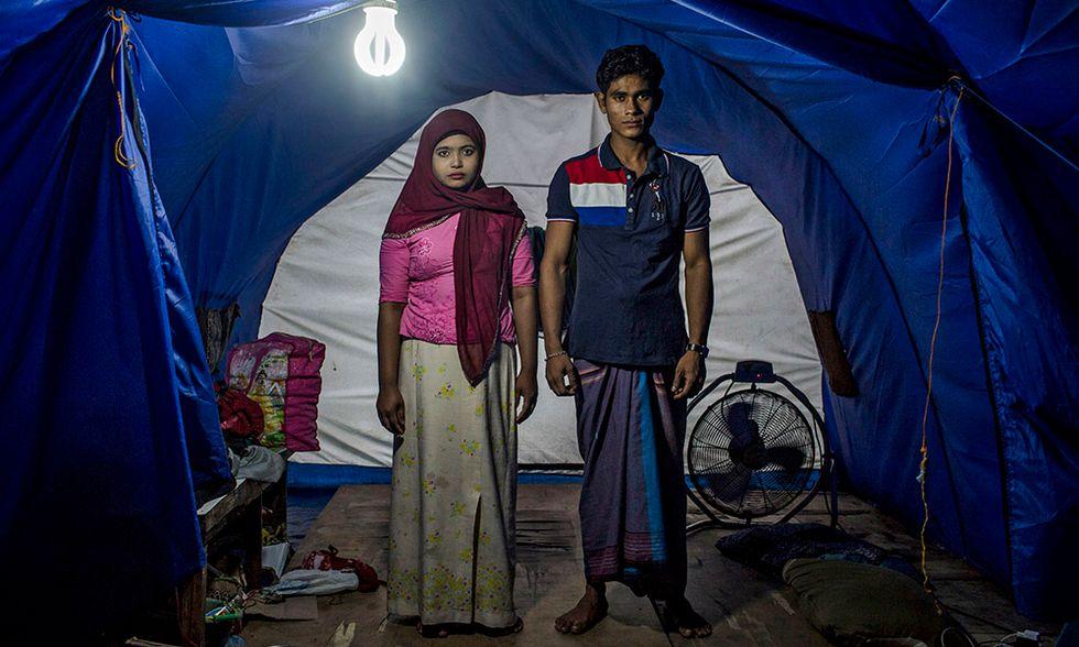Profughi Rohingya in Indonesia