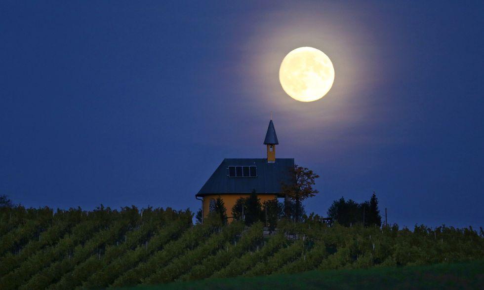 La Luna piena in Baviera