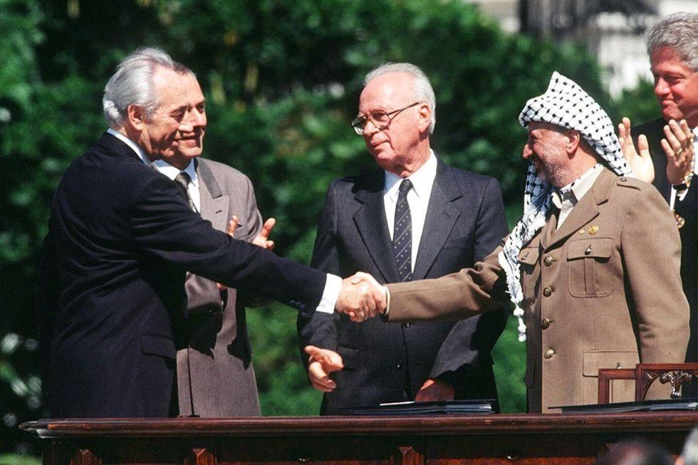 Rabin-Peres-Arafat