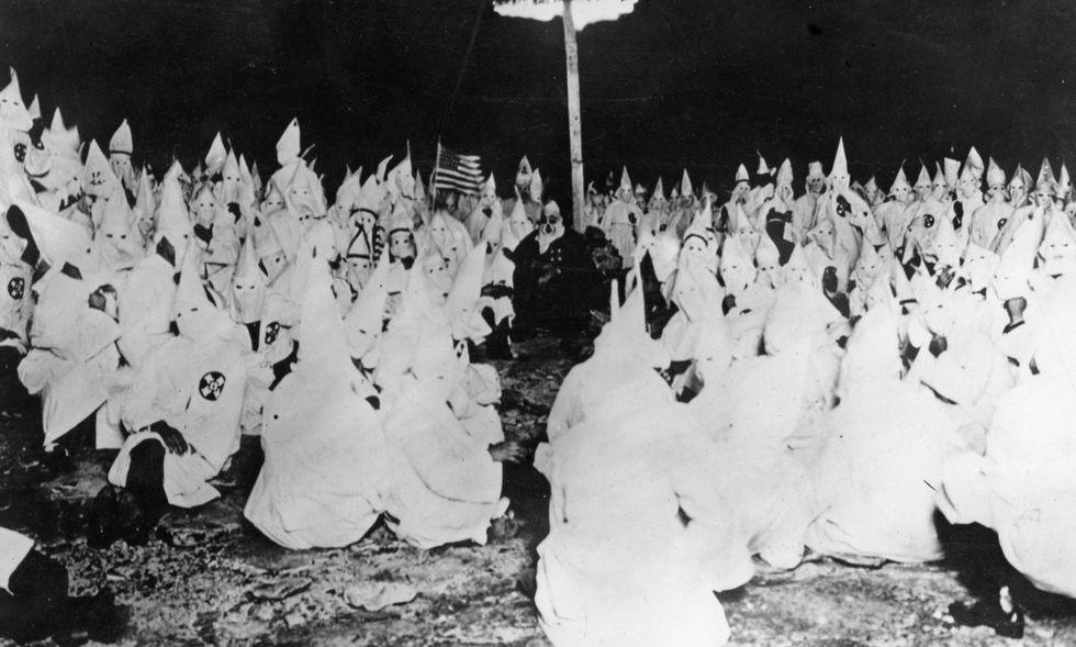 La storia del Ku Klux Klan